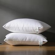 雅娴舒适亲肤枕 全棉枕芯一对成人家用柔软枕头 学生宿舍单人枕芯