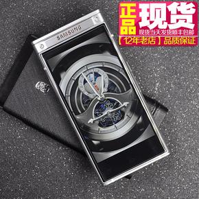 2018年男士翻盖商务电信4G双模双待安卓智能W2018手机皮套壳1600W