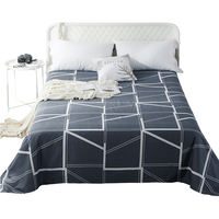 Antarctic cotton bed linen single piece double 1.5/1.8/2 m cotton single sheet student 1.2m bed