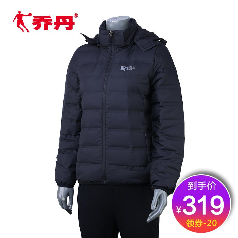 【商场同款】乔丹运动羽绒服女2018冬季保暖休闲外套女FGM4273430