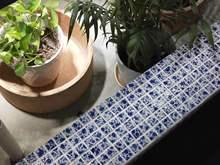 陶瓷窑变马赛克 青花瓷 鹅卵石园林背景墙客厅卫生间厨房瓷砖地砖