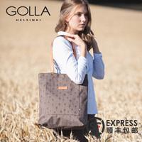 GOLLA芬兰新款简约时尚女包休闲单肩包 大容量女斜跨包托特包潮