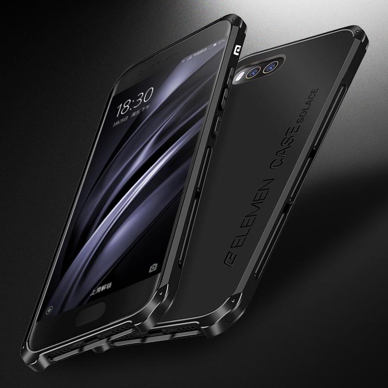 小米6手机壳潮男防摔小米6保护套磨砂硬小米Note3手机壳硅胶金属