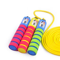 Children skipping kindergarten nursery jumping rope Primary school pupils can adjust beginner skipping sports boy available