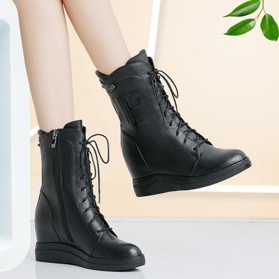 坡跟女士皮棉鞋排行