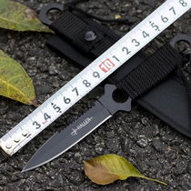 Outdoor supplies diving knife body body leggings straight knife outdoor tool field survival small straight knife diving knife