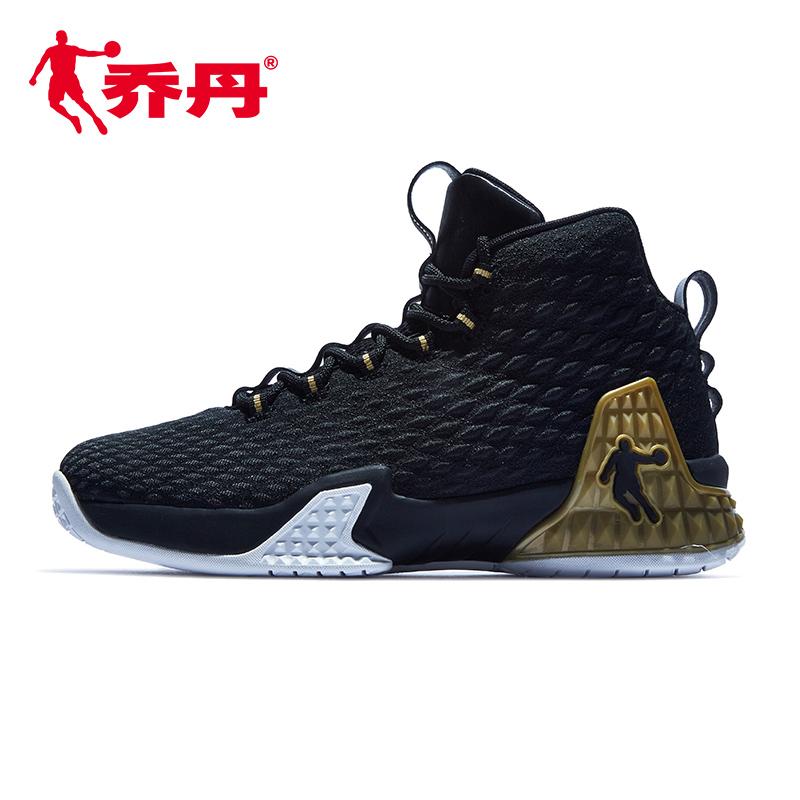 乔丹男鞋夏季篮球鞋男球鞋黑金战靴2019新款篮球高帮鞋运动鞋鞋子