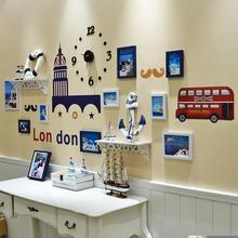 创意背景墙壁客厅挂件卧室男孩女孩房间壁饰挂饰儿童简约墙面装饰