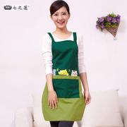 围裙韩版时尚欧式可爱成人公主围腰 家居厨房防油污做饭围裙定制