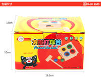 Monte knocking table knocking table hammer box piling table children's teaching aids 1-3 years old baby early childhood education children's educational toys