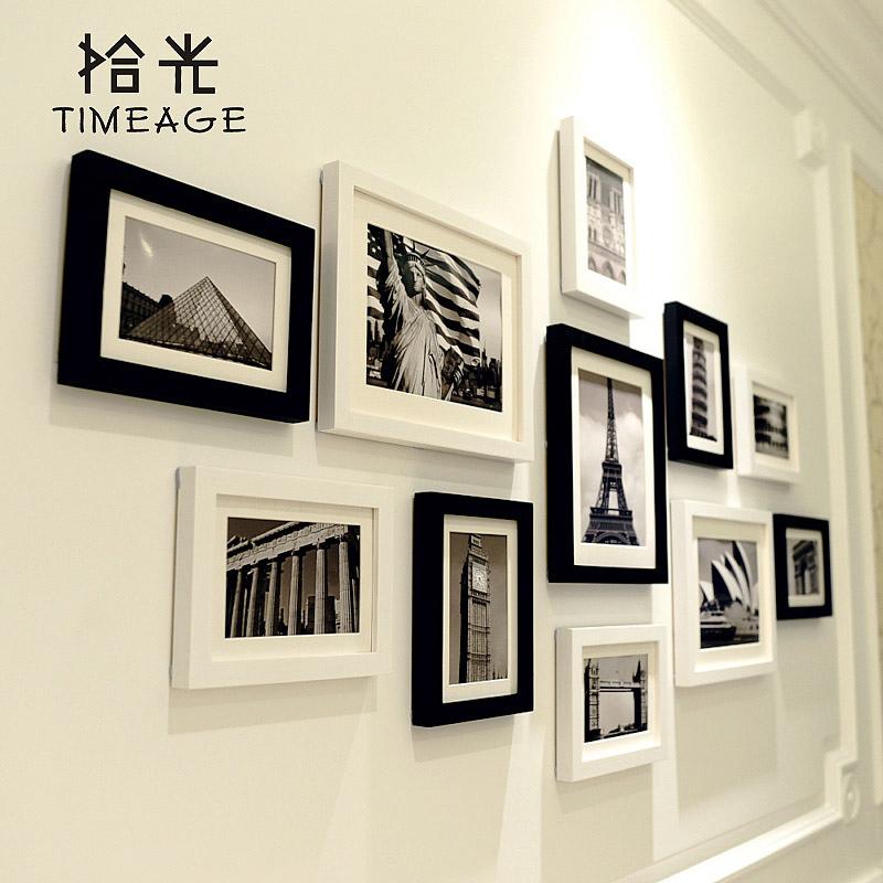 画框挂墙客厅简约现代