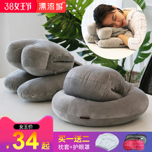 午睡枕抱枕小学生趴趴枕午休枕头办公室儿童睡觉神器趴着桌子睡枕