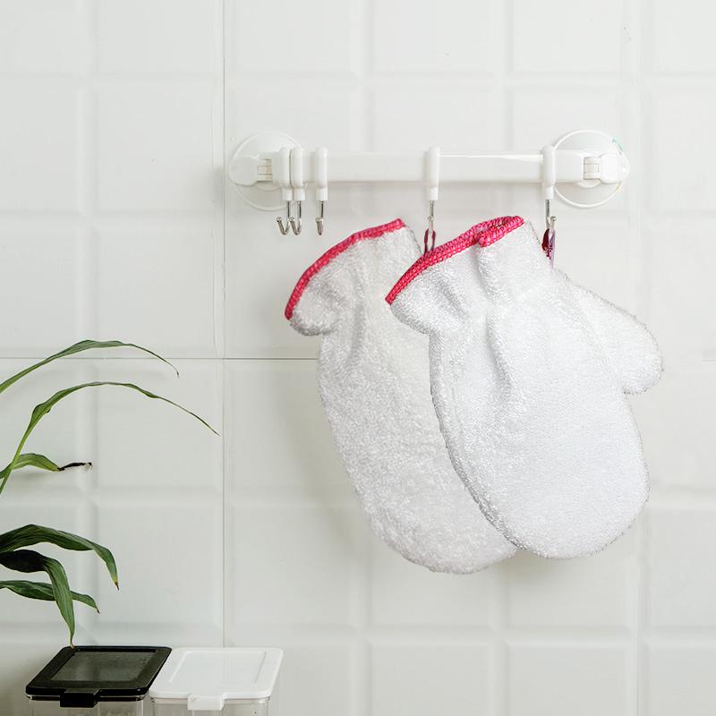 靓涤厨房洗碗纤维加厚防水手套家务洗碗布抹布百洁布清洁巾去污