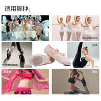 Iron arrow dance shoes children female soft bottom practice adult body classical dance cat claw boys and girls Chinese ballet
