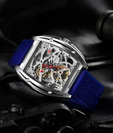 小米 米家玺佳机械表•Z系列全镂空男休闲手表时尚潮流全自动机