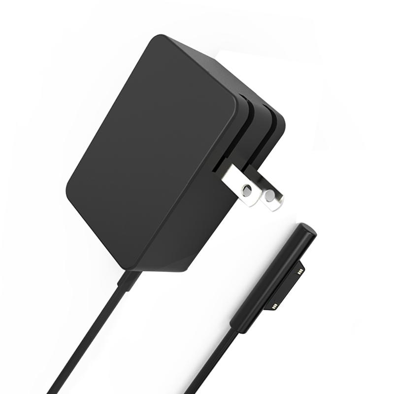讯兹 微软平板电脑Surface go电源适配器24W折叠便携M3充电器插头线配件 Pro6平板电源Pro 4 5电脑快充电线