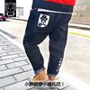 牛仔裤加肥男童