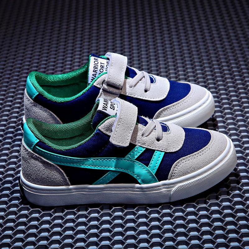 回力童鞋儿童帆布鞋2019春新款男童女童鞋子小白鞋学生板鞋运动鞋