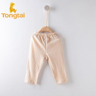 童泰婴儿衣服男女儿童春夏薄款内衣裤子长裤宝宝可开裆长裤子