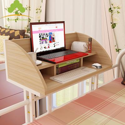 雨晨宿舍床上用电脑桌大学生寝室书桌上铺懒人学习床边悬空桌子