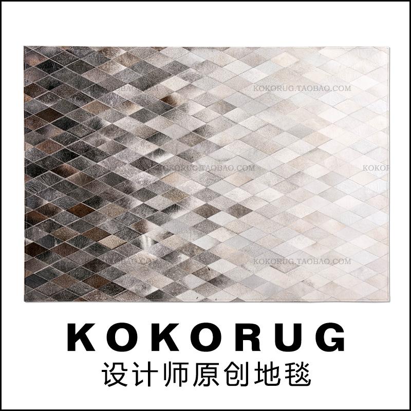 马毛拼接地毯