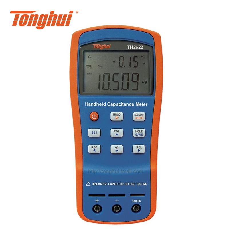 常州同惠 手持式电容测试仪TH2622 元器件参数测试仪 电容表