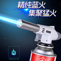 Cassette spray gun portable welding torch igniter blowtorch flame burner burning pig hair flame gun fire spray gun gun head