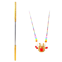 Children's toys Sun Wukong Qitian Dasheng telescopic wishful gold hoop stick weapons plastic children's stretchable metal