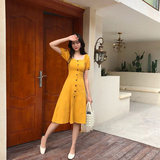 Breastfeeding clothes 2019 out of the new summer fashion short-sleeved long-sleeved dress postpartum slimming meat feeding clothes