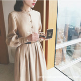 2019 autumn and winter new out fashion breastfeeding clothes slim fashion tide mother feeding clothes postpartum breastfeeding dress