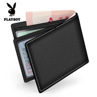 Playboy leather driver's license holster multi-function driving license set leather driver's license men and women wallet ID card package