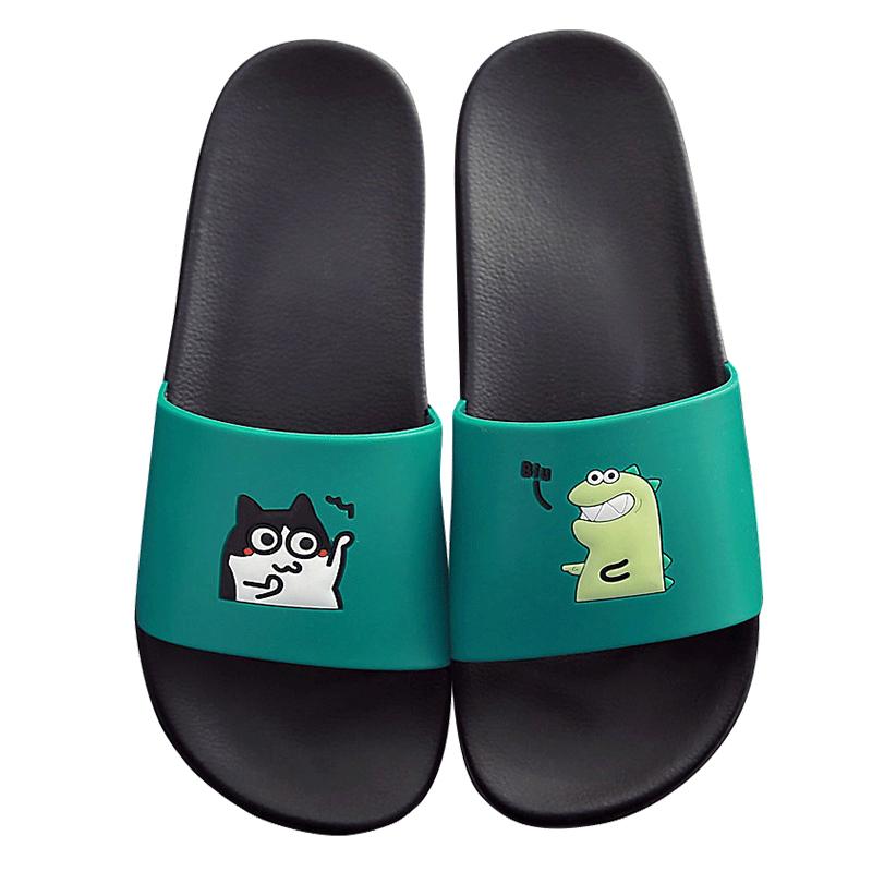 家居凉拖鞋女士家用夏天防滑室内洗澡情侣2019新款夏季拖鞋男外穿