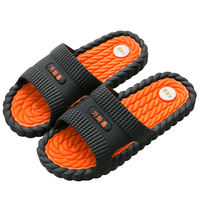 2019 new sandals and slippers home men's summer non-slip indoor bathroom bath home massage slippers men's wear