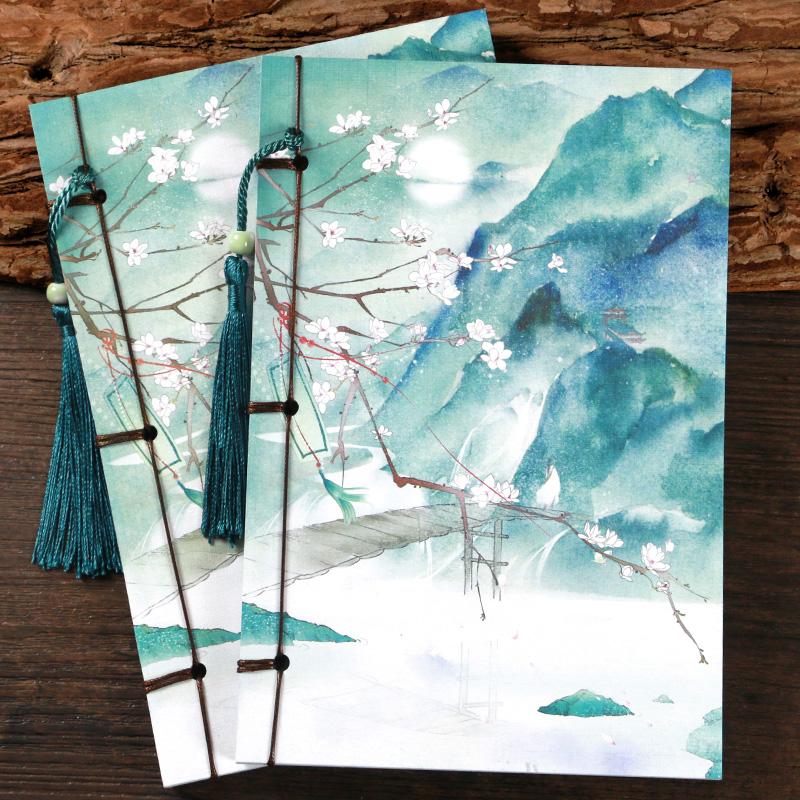 不如归去古风线装本 复古记事本子日记本 礼品创意古典文具笔记本