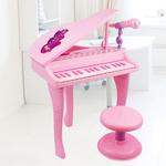 儿童电子琴带麦克风1-3-4-5-6岁7女孩早教贝芬乐小孩宝宝钢琴玩具