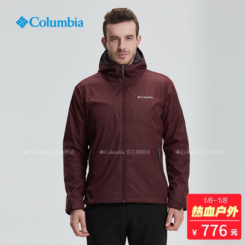Columbia/哥伦比亚户外18秋冬新品男款保暖冲锋衣WE1224