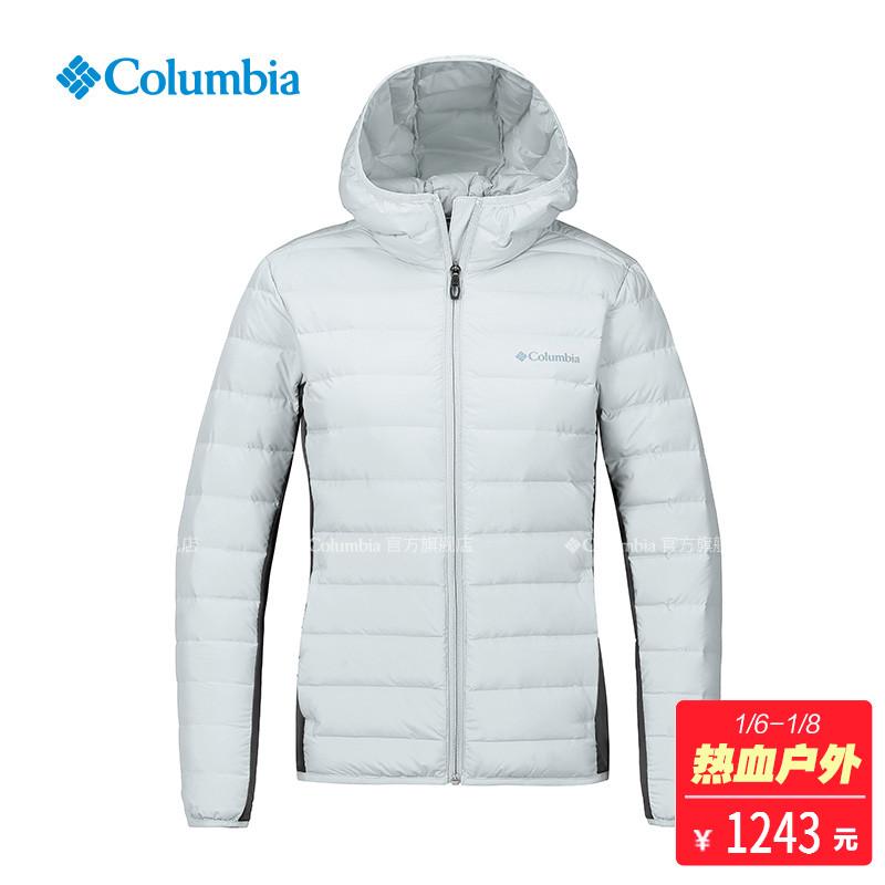 Columbia/哥伦比亚户外18秋冬新品女款700蓬保暖羽绒服PL5266