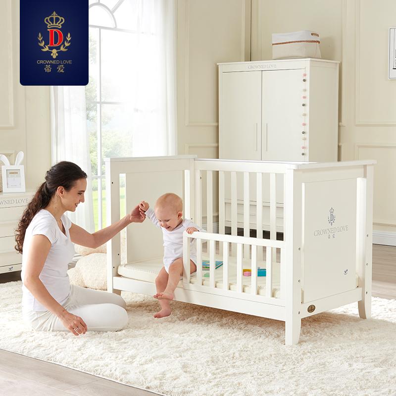 蒂爱欧式婴儿床65CMX120CM