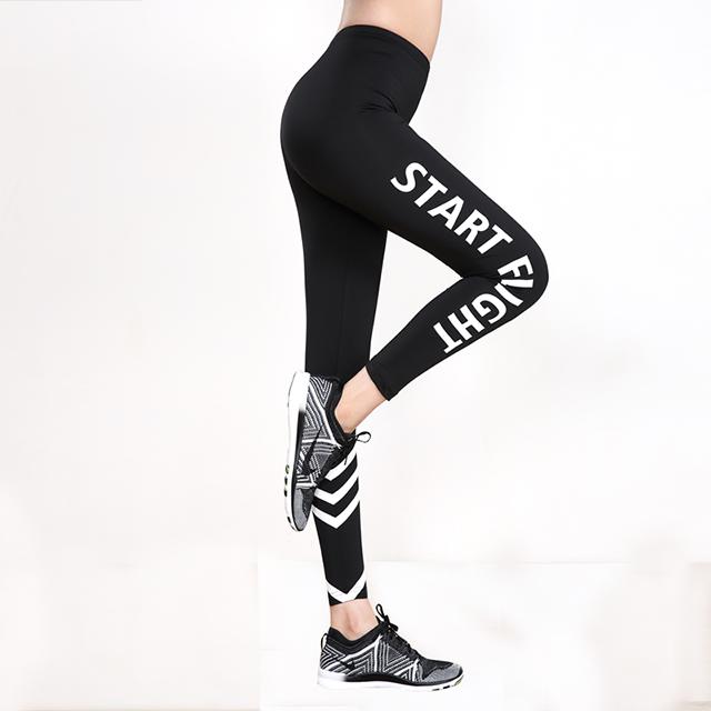 运动紧身裤女高弹瑜伽裤速干提臀健身裤弹力训练跑步长裤加绒加厚