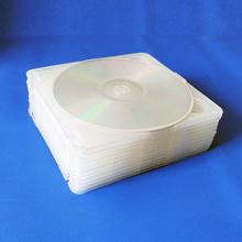 高品质一次料 10个 DVD光盘盒 PP半圆盒 高质量