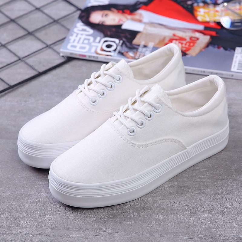 小白鞋纯色百搭