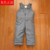 Baby boy girl child child windproof waterproof warm bib pants chest ski pants cotton pants warm winter