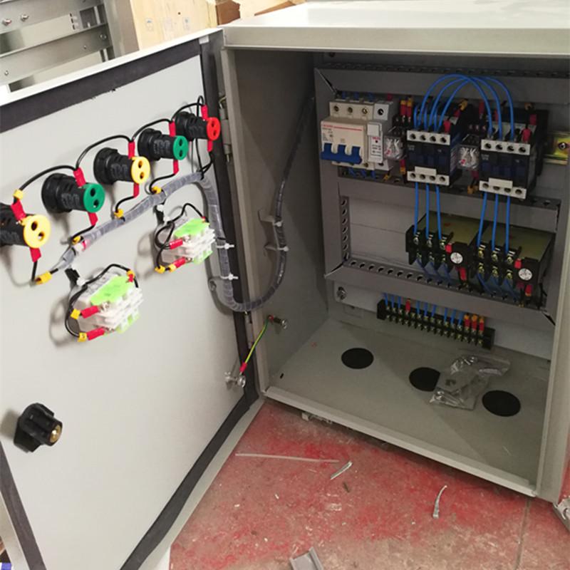 排污水泵控制柜消防稳定直接启动 一用一备1.5至110KW 风机控制箱