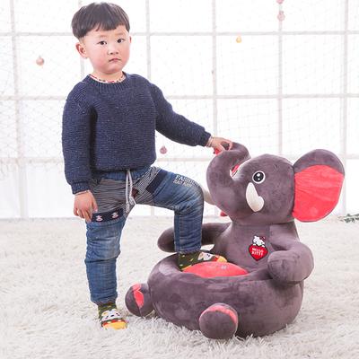 卡通毛绒玩具布艺儿童小沙发座椅榻榻米可拆洗宝宝单人懒人沙发爆款