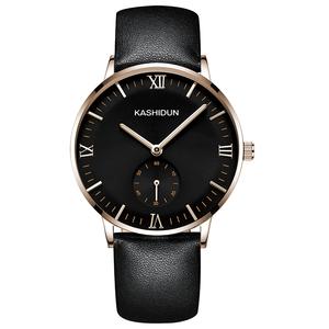 卡诗顿机械表男全自动机械男表皮带防水夜光商务男士手表皮带腕表