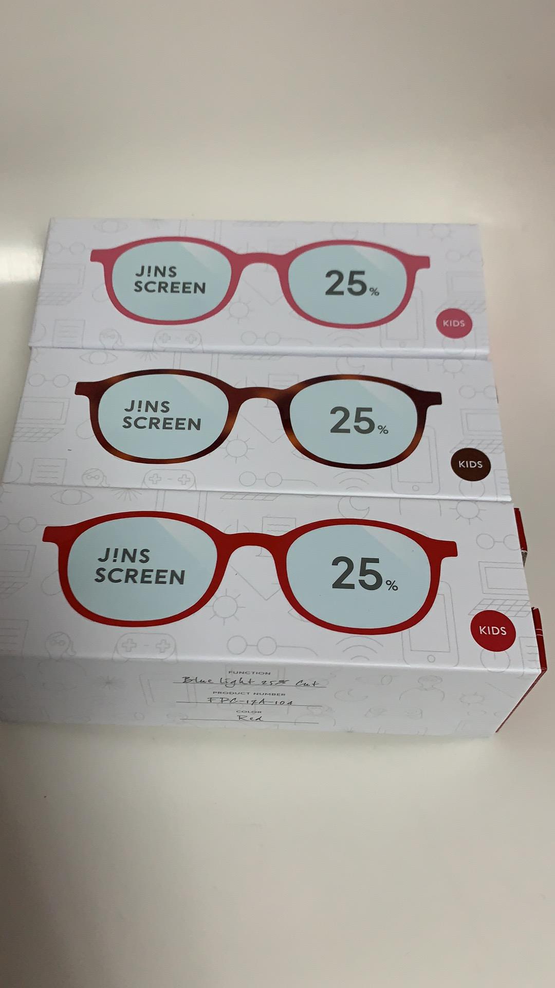 蓝光眼镜288日本jins护目眼镜