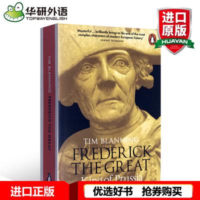 腓特烈大帝传 英文原版人物传记 Frederick the Great King of Prussia 英文版进口英语书籍正版现货 Penguin 企鹅经典