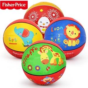 费雪球小皮球1-3-6岁宝宝弹力球幼儿园专用拍拍球儿童篮球类玩具