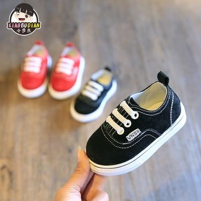 春秋款儿童鞋幼儿学步鞋小宝宝鞋子软底婴儿鞋简约布鞋单鞋0-1-2