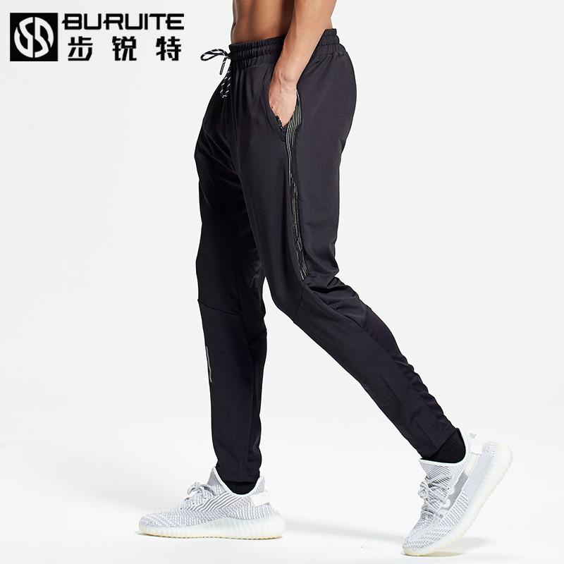 男夏季空调冰丝跑步速运动裤干健身